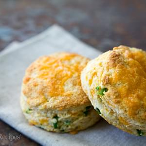 Cheddar and Jalapeño Biscuits