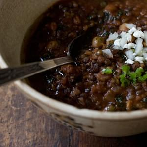 Pierce Street Vegetarian Chili