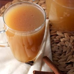 DIY Spiced Caramel Apple Cider