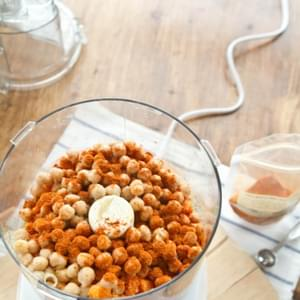 Sweet Potato Curry Hummus