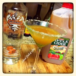 Carm-Apple Martini