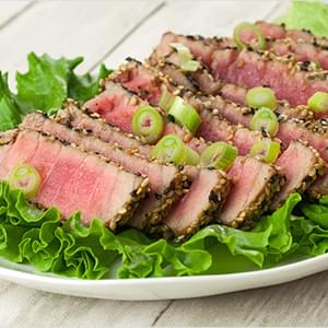 Sesame-Crusted Tuna Steaks