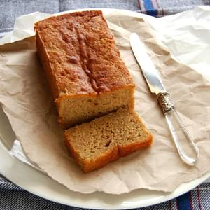 Banana, Ginger And Honey Cake