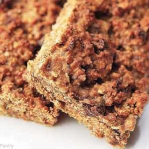 Clean Eating Cinnamon Chocolate Chip Protein Bars