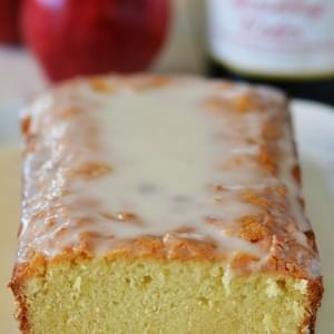 Sparkling Apple Cider Pound Cake