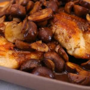Balsamic Chicken and Mushrooms