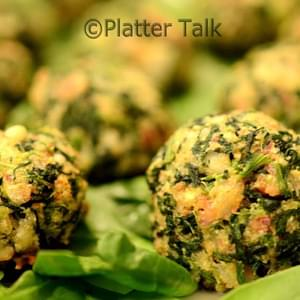 Bacon Spinach Balls