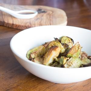 Miso Glazed Brussel Sprouts