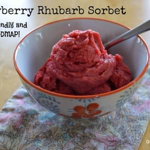 Guest Post by Jamie Hartman – Strawberry Rhubarb Sorbet (Autoimmune Protocol Friendly)