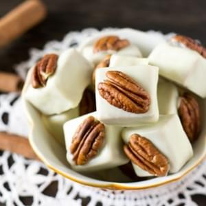 White Chocolate Spice Cake Candies