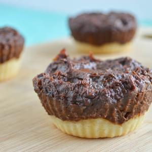 Sweet Potato Chocolate Tartlets