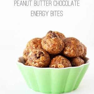 Peanut Butter Chocolate Energy Bites