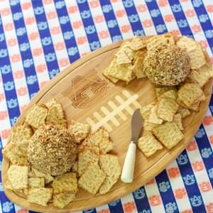 Cracked Out Cheese Ball {Football Friday}