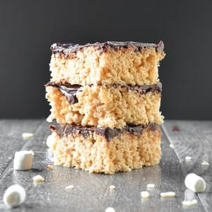 Brown Butter Rice Crispy Treats