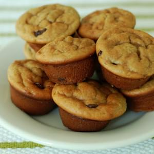 Quick, Melt-In-Your-Mouth Mini Muffins - Gluten, Grain & Dairy-Free