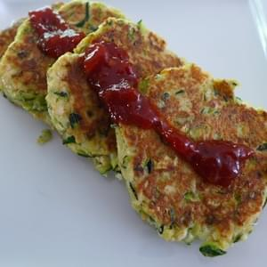 Zucchini Patties - Asian Flavours
