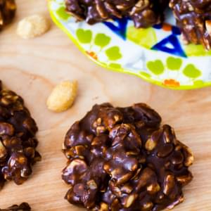 Gluten Free Fudge No-Bake Cookies
