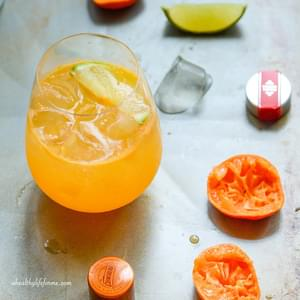 Blueberry Lavender Vodka Spritzer Recipe