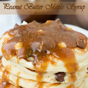 Peanut Butter Maple Syrup