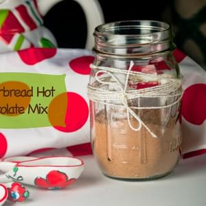 Gingerbread Hot Chocolate Mix for #Sundaysupper