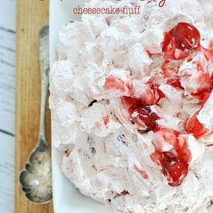 Cherry Cheesecake Fluff Salad