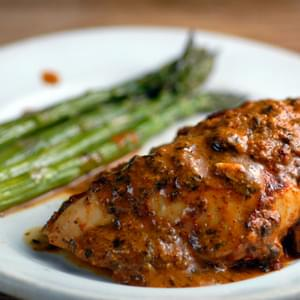 Baked Mustard Lime Chicken