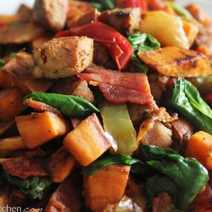 Loaded Paleo Breakfast Hash