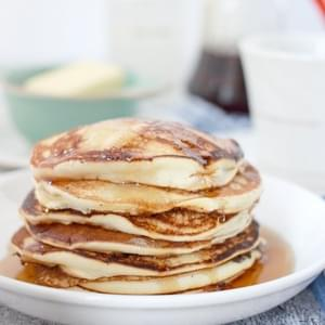 Light and Fluffy Meringue Pancakes (Pancakes Without Baking Powder)