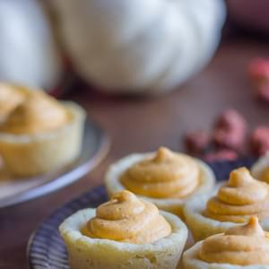 Easy Pumpkin Pie Tarts