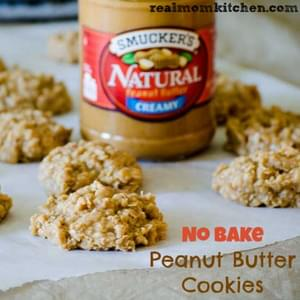 No Bake Peanut Butter Cookies and Mount Rushmore