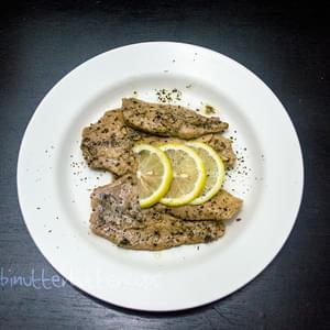 Tilapia in Lemon and Basil
