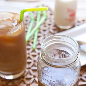 Homemade Caramel Coffee Syrup