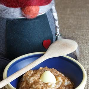 Ginger Honey Okayu (Japanese Rice Porridge) Recipe
