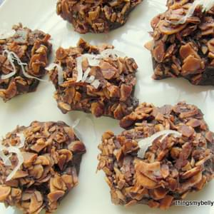 Cocoa-Nutty Haystacks (flour and dairy free!)