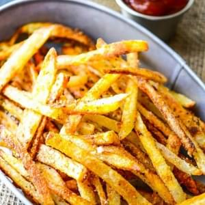 Extra Crispy Oven Baked French Fries