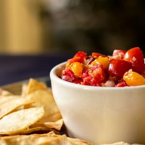 Pico de Gallo with Pickled Peppers and Chipotle