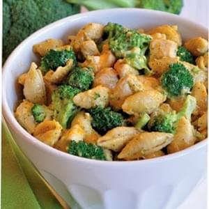 Chicken, Broccoli & Cheese Skillet Meal Pasta