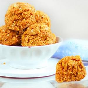 No-Bake Pumpkin Oatmeal Cookies