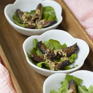 Dried Figs Dressed With Goma (Sesame) Dressing