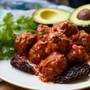 Spicy Chiptole Meatballs