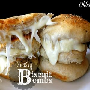 Melty cheesy filled biscuit deliciousness..INCOMING!