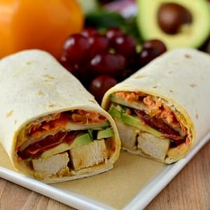 Summer Chicken Wraps