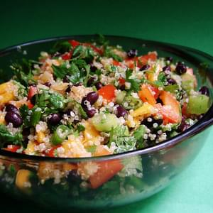 Quinoa, Mango & Black Bean Salad