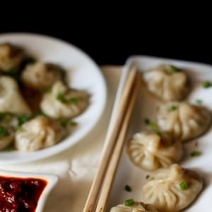 Veg Momos Recipe - Makes 14-16