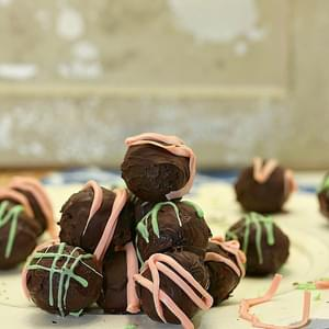 Coconut Chocolate Cherry Truffles