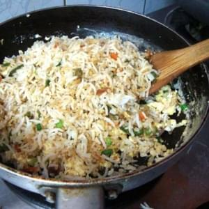 How to Cook Simple and Tasty Egg Fried Rice
