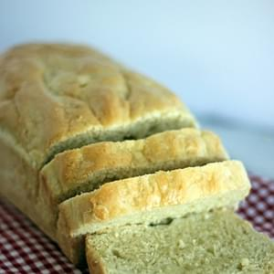My Mom's Wonderful English Muffin Bread!