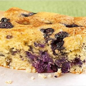 Easy Lemon-Blueberry Breakfast Cake