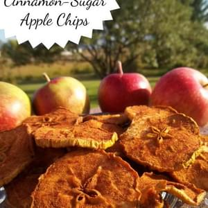 Cinnamon-Sugar Apple Chips