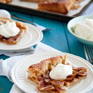 Pear Puff Pastry Tart